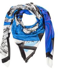 Shizuka 002/Flow, silk scarf by karlssonwilker