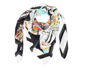 Shizuka 003/Power, silk scarf by karlssonwilker
