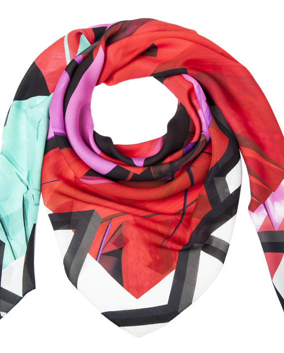 Saga Kakala, silk scarf, karlssonwilker