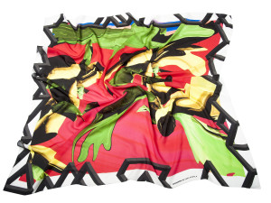 Shizuka  Bold, silk scarf