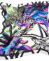 Shizuka  Creation, silk scarf