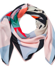 SAGA KAKALA, silk scarf Crown by Helga Bjornsson /wrap_