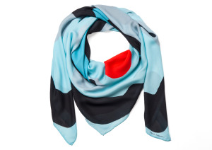 SAGA KAKALA, silk scarf Prim by Helga Bjornsson / wrap_