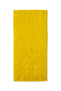 hand towel, yellow