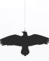 krummi bird hanger, black by IHANNA HOME