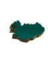 Island Coaster, color dark green